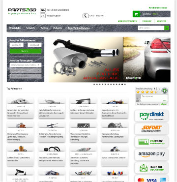 Parts2Go Screenshot